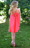 Soak Up The Sun Dress: Neon Mango