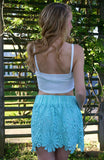 One In A Million Skirt: Mint