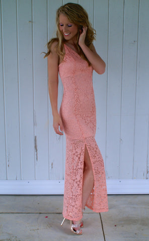 So Graceful Maxi Dress: Pink