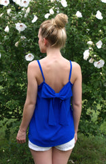 Blue Moon Top: Royal Blue
