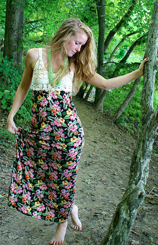 Days To Remember Maxi Dress: Multi
