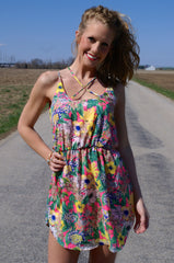 Forever Sunshine Dress: Multi