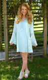 She's Dreamy Dress: Light Mint