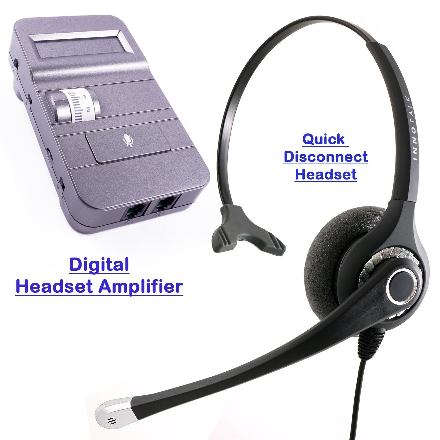 Innotalk Supersonic Pro Monaural Headset