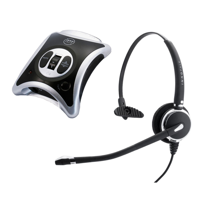 Cisco Phone 790xG, 791xG, DX650 Headset, Best Professional Noise Cancel Mic Monaural Headset with Cisco Headset Amplifier
