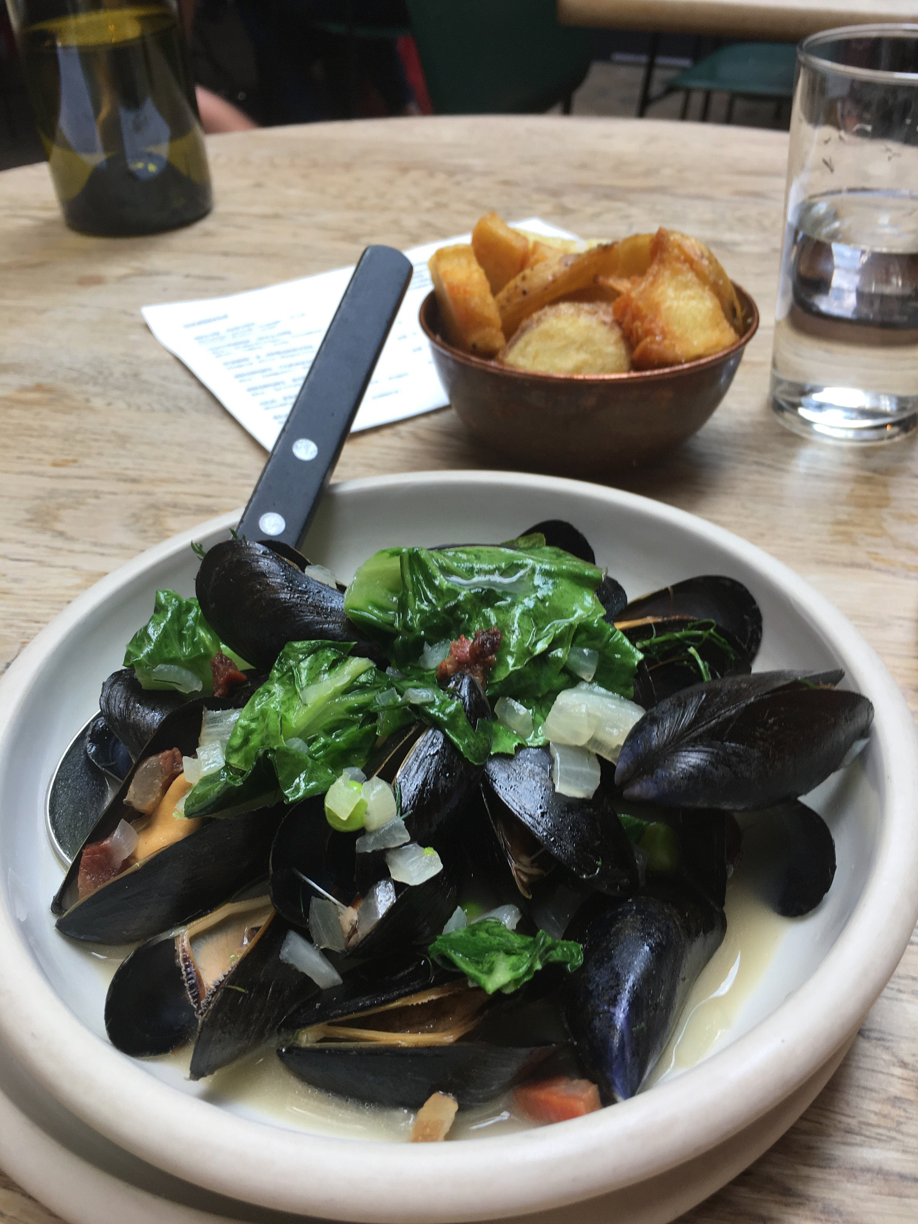 River Teign Mussels
