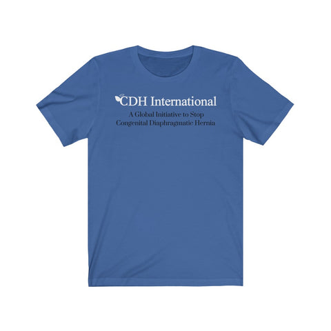 CDH International Logo - Unisex Jersey Short Sleeve Tee