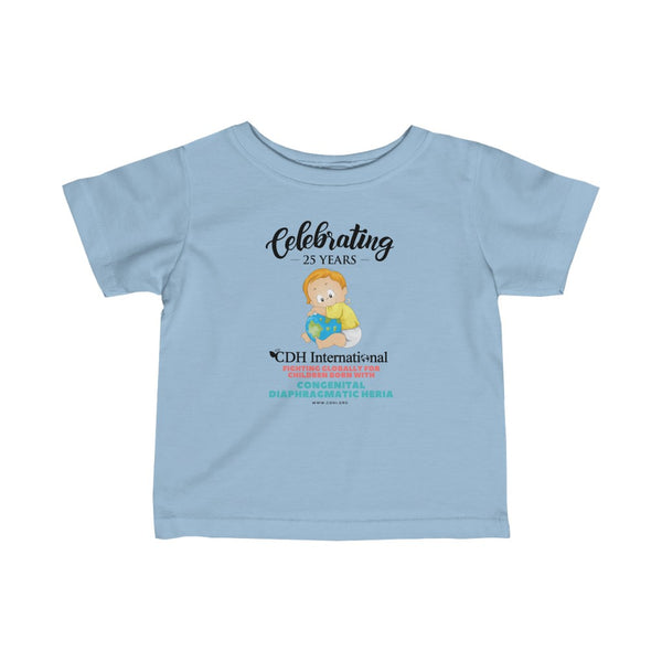 CDH International 25th Anniversary Logo -Infant Fine Jersey Tee