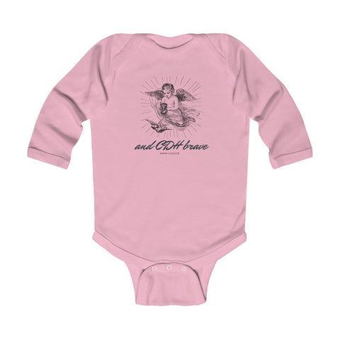 And CDH Brave - Infant Long Sleeve Bodysuit