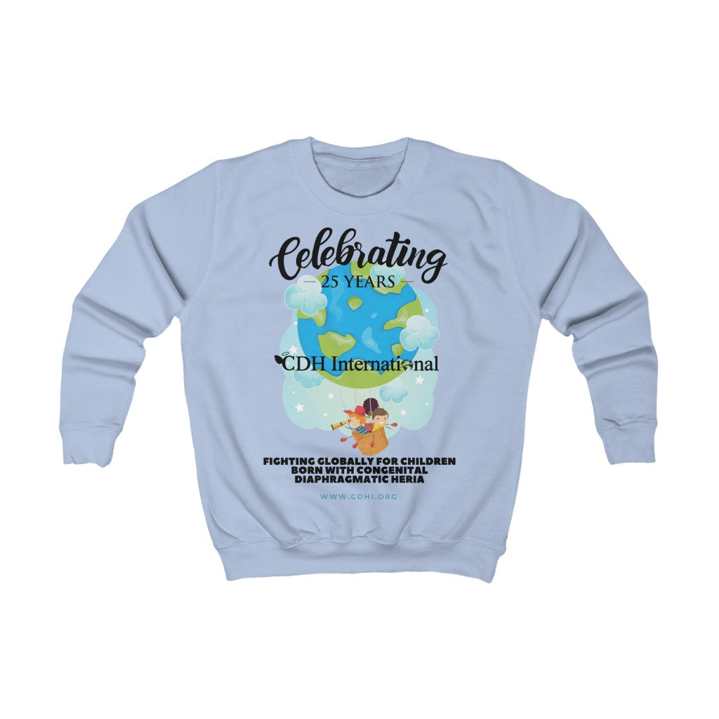 CDH International 25th Anniversary - Kids Sweatshirt