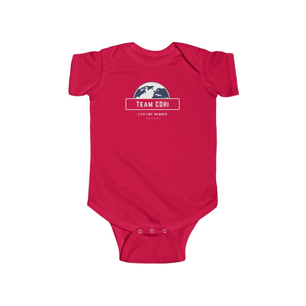 Team CDHi - Infant Fine Jersey Bodysuit
