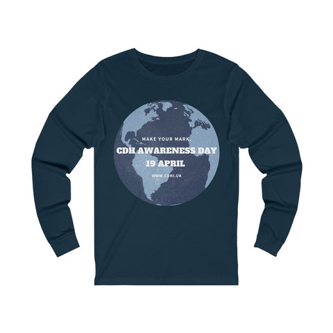 Global CDH Awareness Day - Unisex Jersey Long Sleeve Tee