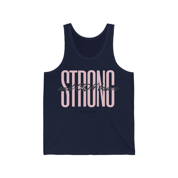 Strong and CDH Brave - Unisex Jersey Tank