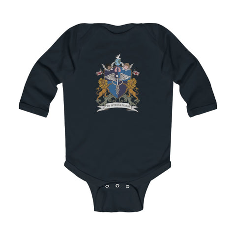 CDH International UK Crest and Shield - Infant Long Sleeve Bodysuit