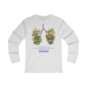 Breath of Life - Women's Fitted Long Sleeve Tee