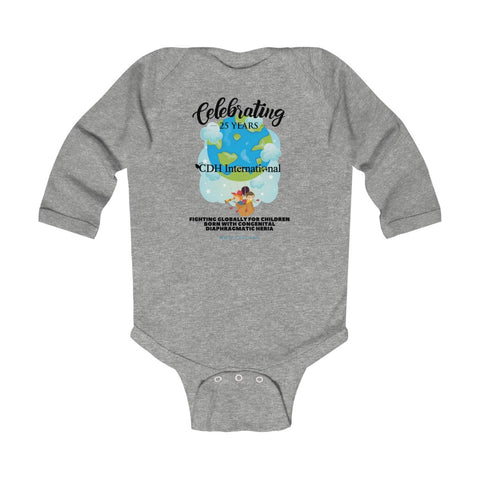 CDH International 25th Anniversary Balloon Logo - Infant Long Sleeve Bodysuit