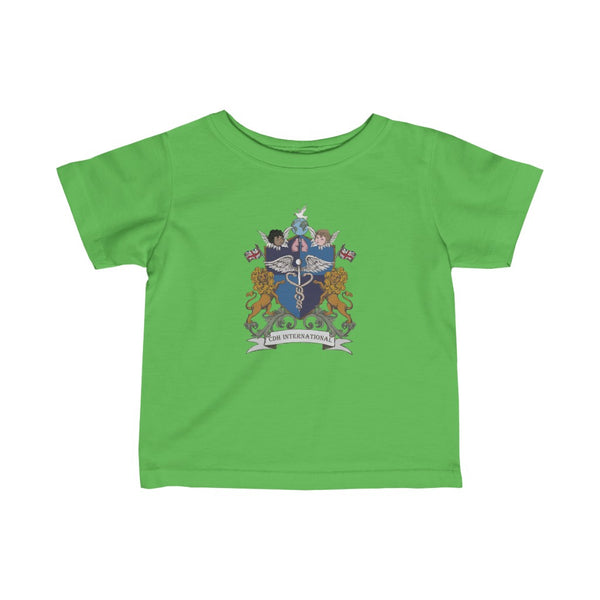 CDH International UK Crest and Shield - Infant Fine Jersey Tee