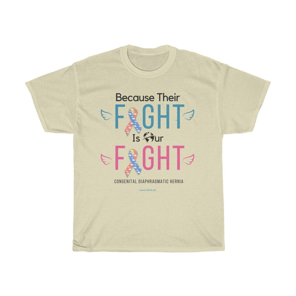 Their Fight Is Our Fight - Unisex Heavy Cotton Tee