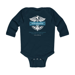 CDH International Medical Logo - Infant Long Sleeve Bodysuit