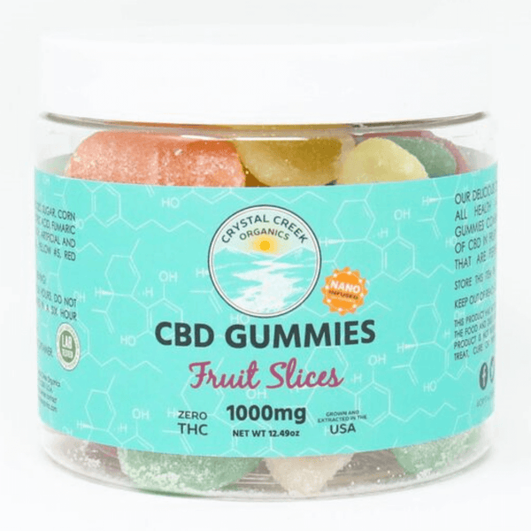 Nano-Infused CBD Fruit Slices