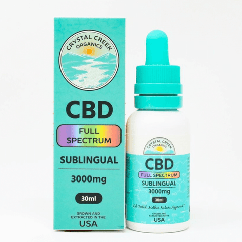 CBD Full Spectrum Sublingual Oil
