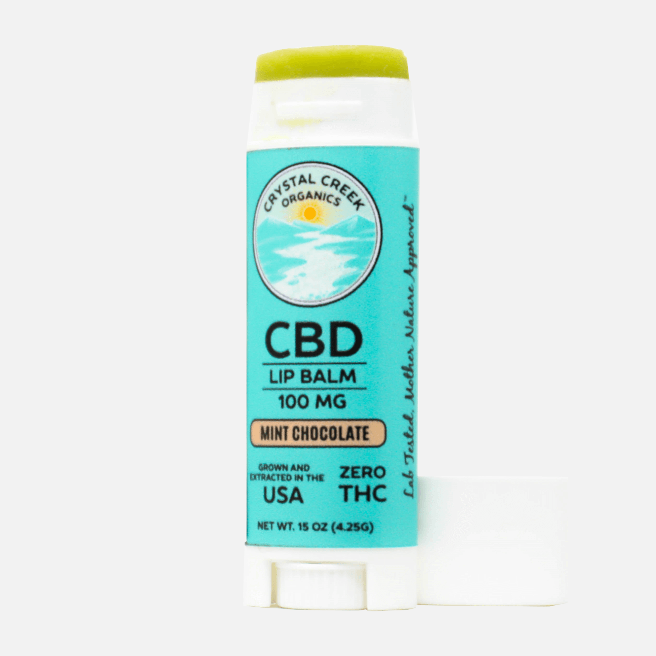 Chocolate Mint CBD Lip Balm