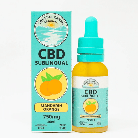 CBD Mandarin Orange Sublingual
