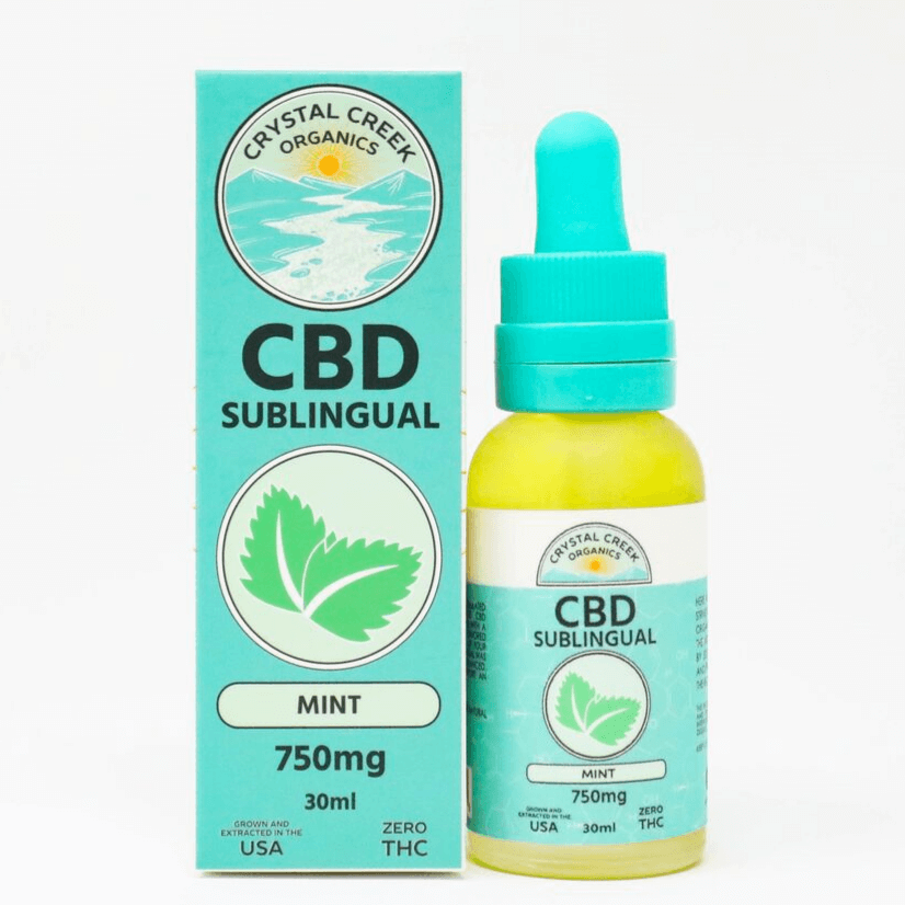 CBD Mint Sublingual