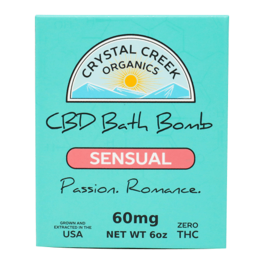 Sensual Full Spectrum CBD Bath Bomb
