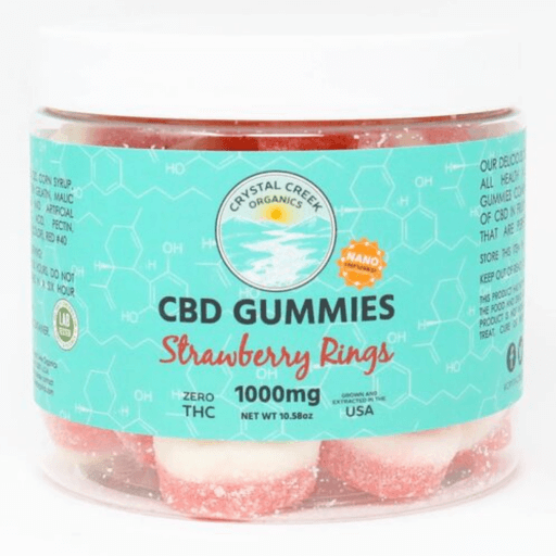Nano-Infused CBD Strawberry Rings