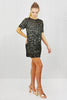Sienna Sequin Sparkle Dress Black