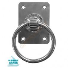 Stainless Steel Craftsman Ring Handle, stainless steel fasteners included