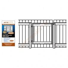 Adjustable Wide Gate Frame