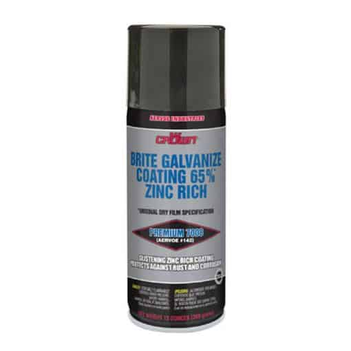 Case of 12 Cans Bright Galv Coating