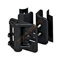 "Cornerstone 1 1/2"" x 2"" Round Self-Closing Hinge"