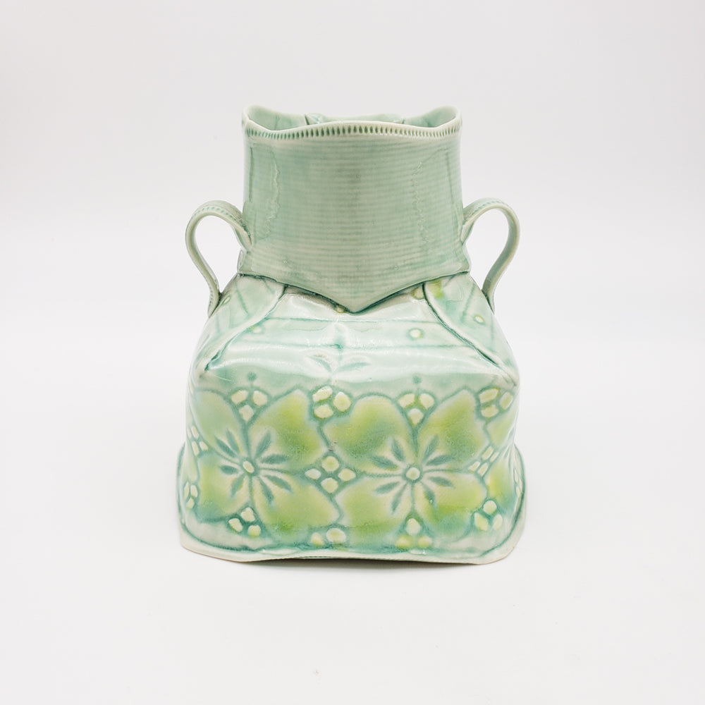 Dress Vase With Handles