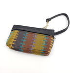 Striped Zipper Bag