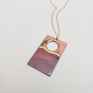 Large Rectangular Necklace