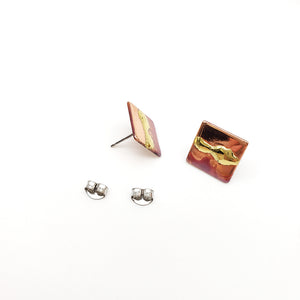 "Load image into Gallery viewer, Morningstar Metalworks 1/2"" Square Studs"