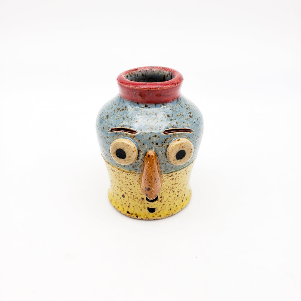 Mini Vase With Face