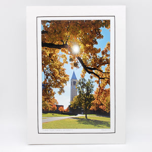 McGraw Tower Matted Print