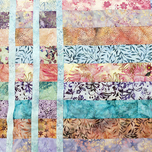 Load image into Gallery viewer, Small Blue Batik Quilt