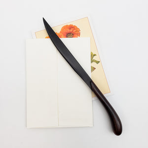 Load image into Gallery viewer, Inlaid Ebony Letter Opener