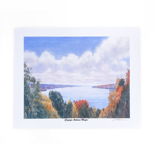 Cayuga Autumn Magic Mini Print 11x8.5