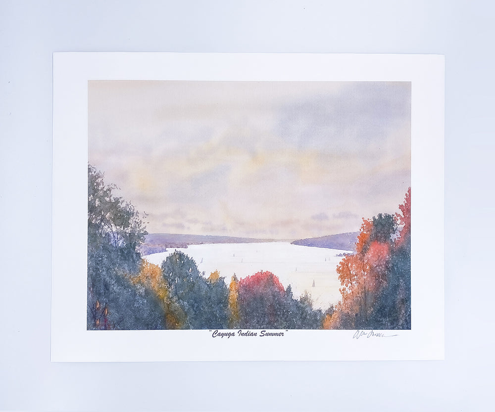 Cayuga Indian Summer Mini Print 11x8.5