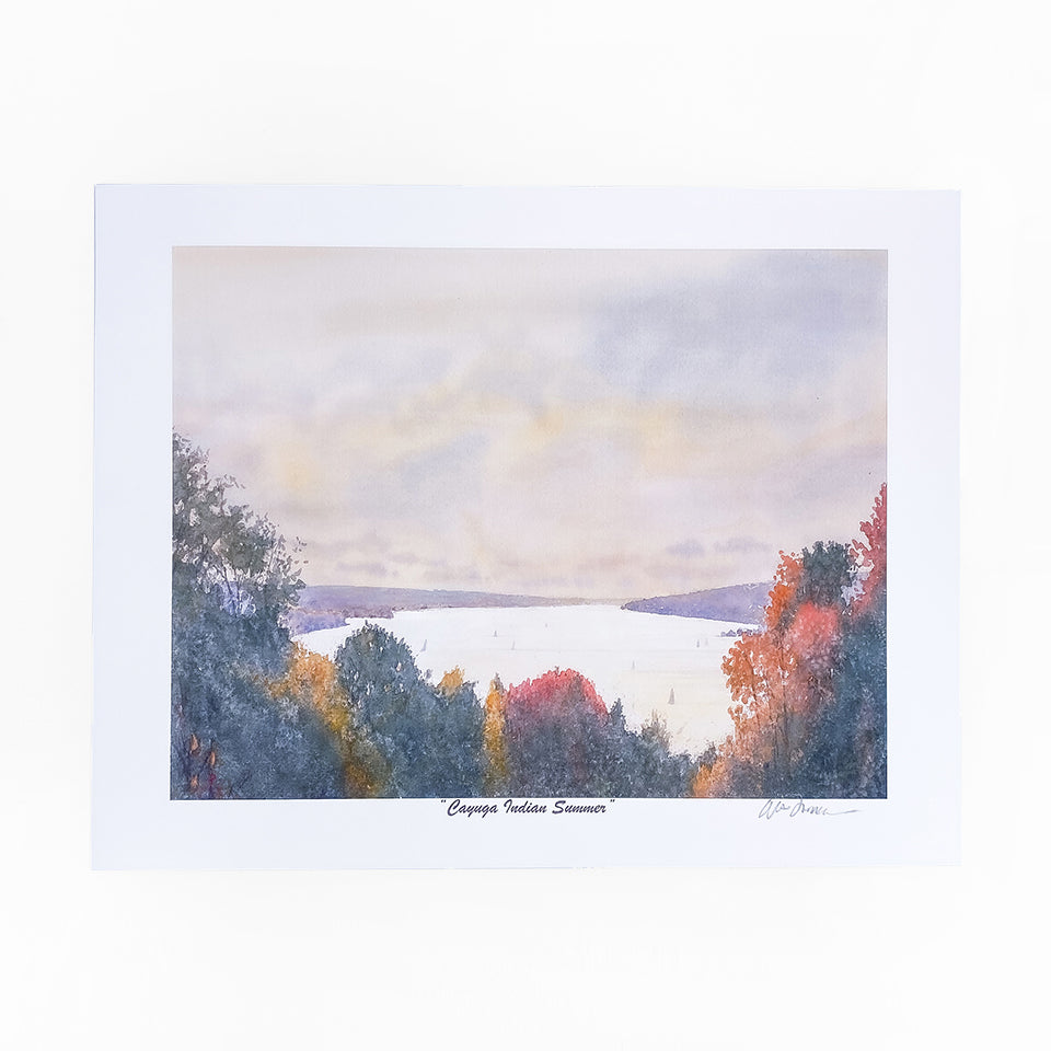 Load image into Gallery viewer, Cayuga Indian Summer Mini Print 11x8.5