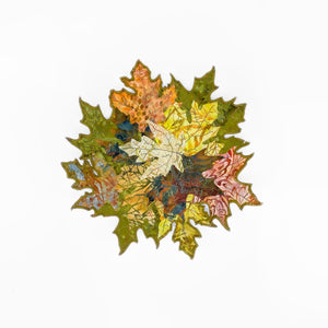 Load image into Gallery viewer, Cut Leaf Basket Sculpture
