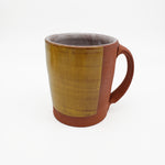 Red and Goldenrod Mug