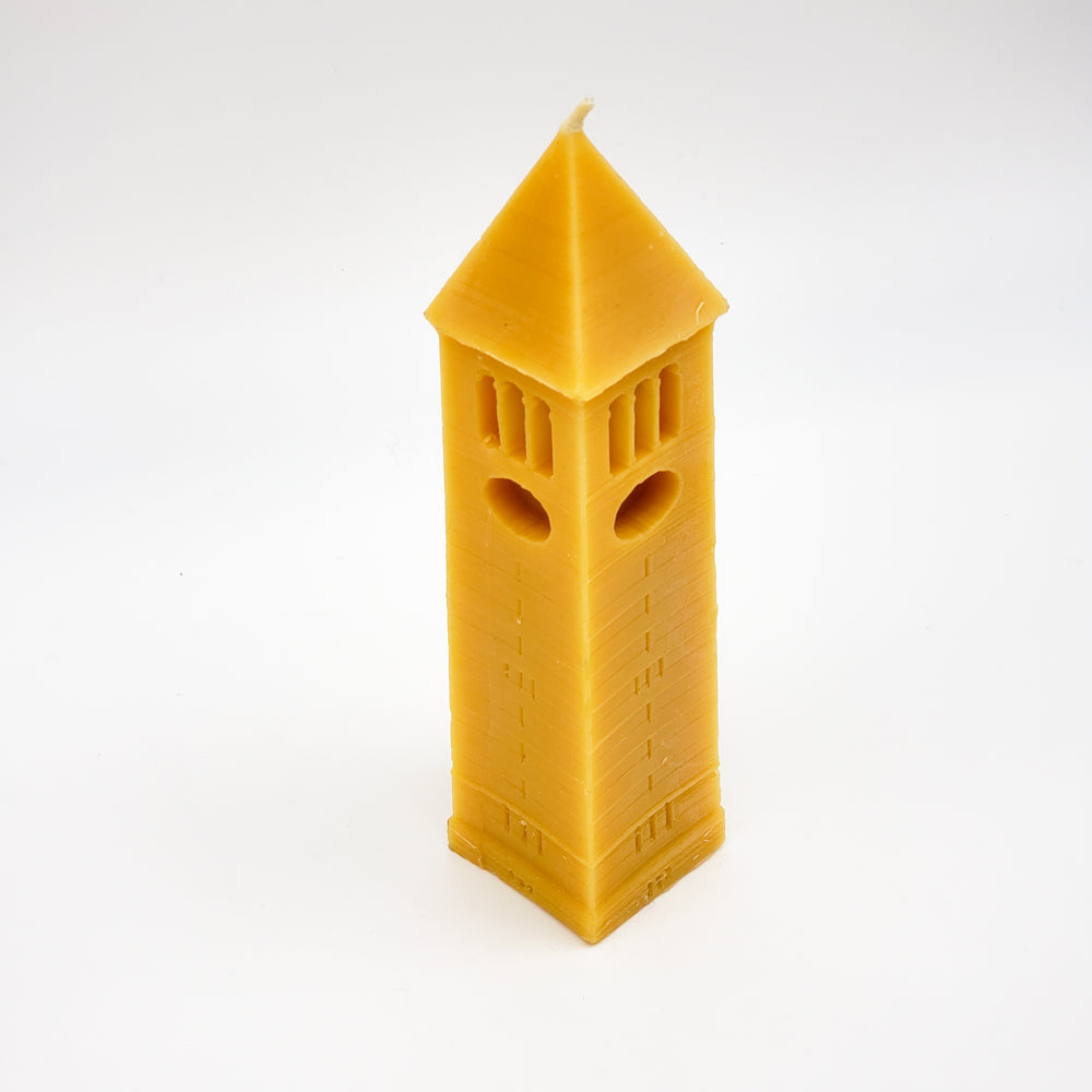 Small Clock Tower Candle