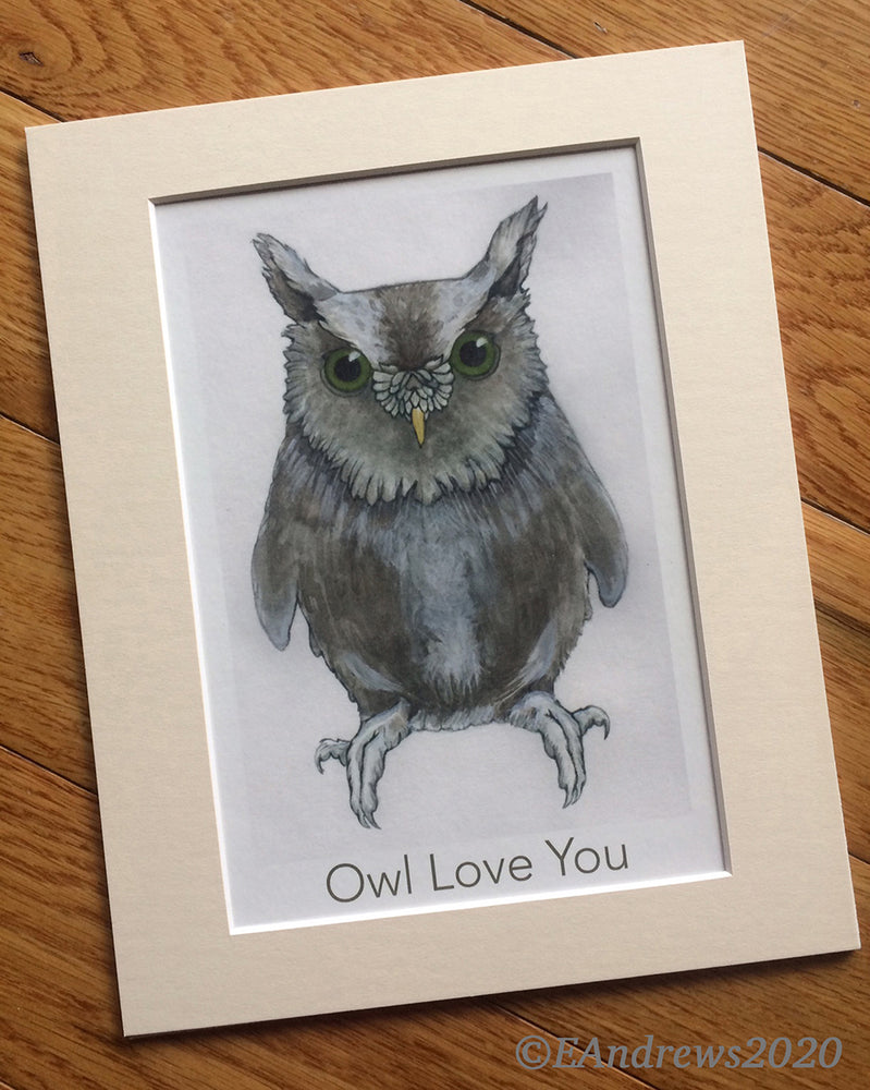 'Owl Love You' Print